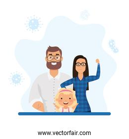 Mother father daughter and covid 19 virus vector design