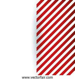 White with red lines background vector design