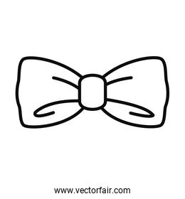 bow tie icon, line style