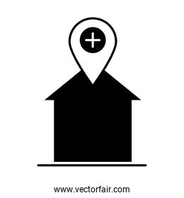 covid 19 coronavirus social distancing prevention, stay at home safe quarantine, outbreak spreading vector silhouette style icon