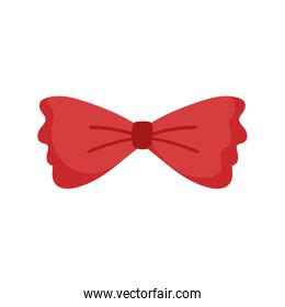 men bow tie accessory fashion vintage classic isolated design icon