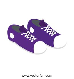 tennis shoes young accessory icon