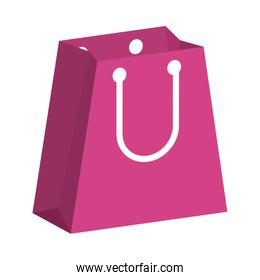 shopping bag paper handle icon