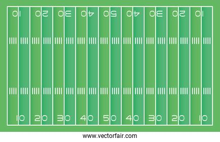american football field scene icon