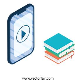 smartphone device electronic with ebooks