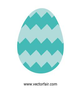 happy easter egg painted with