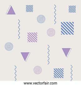 memphis geometric mnimal 80s 90s style fashion abstract background