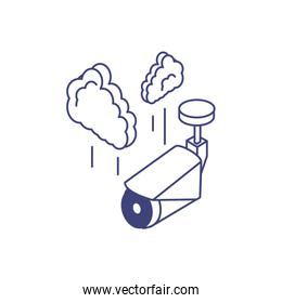 video camera device with clouds computing
