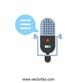 microphone audio device technology icon
