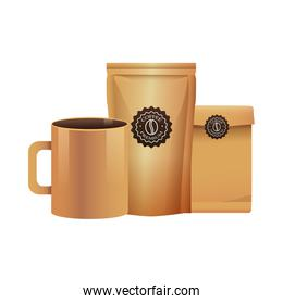 elegants yellow coffee packings products