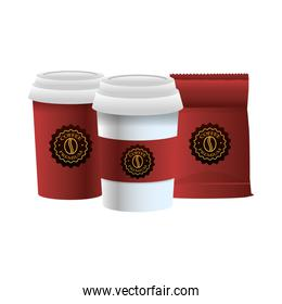 elegants red coffee packings products
