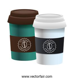 elegant cups of coffee products