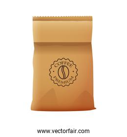coffee paper bag elegant packing product