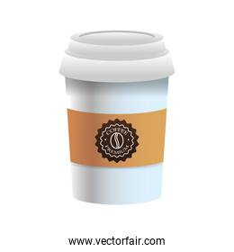 elegant cup of coffee product