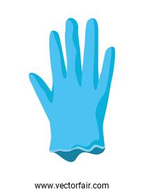 rubber glove medical protection accessory