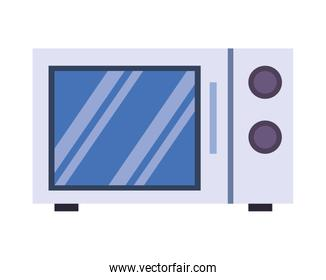 microwaves oven kitchen appliance isolated icon