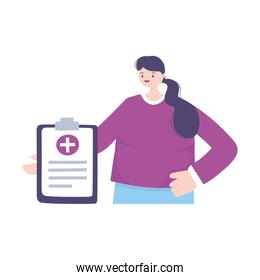 telemedicine, patient consultation medical report treatment and online healthcare services