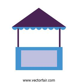 Isolated tent icon vector design