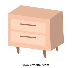Home wood furniture vector design
