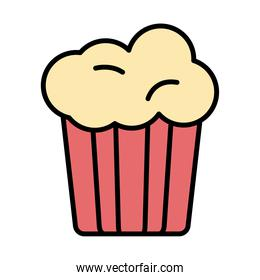 sweet cupcake fill style icon