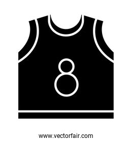 basketball game, jersey equipment template recreation sport silhouette style icon