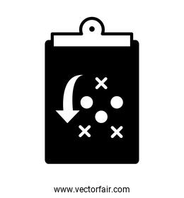 basketball game, strategy board equipment recreation sport silhouette style icon