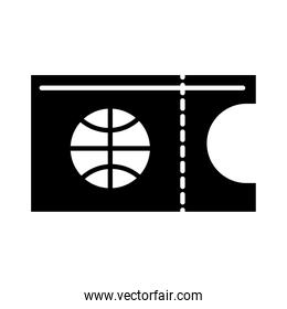 basketball game, ticket tournament recreation sport silhouette style icon