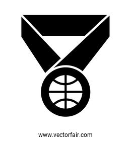 basketball game, prize medal league recreation sport silhouette style icon