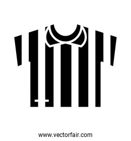soccer game, jersey referee equipment league recreational sports tournament silhouette style icon