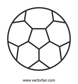soccer game, ball equipment league recreational sports tournament line style icon