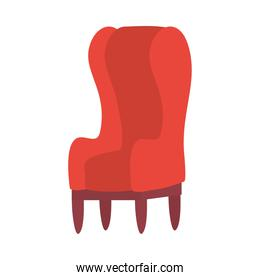 Isolated chair icon vector design