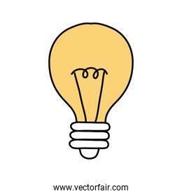 bulb light free form style icon