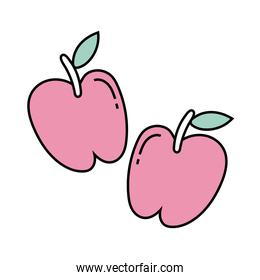 fresh apples free form style icons