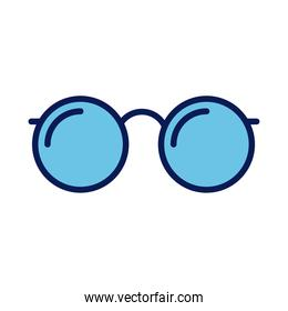 eye glasses optical accessory line and fill style