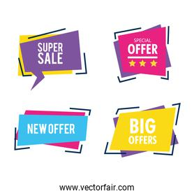 collection, sale banner templates, new offers, special offers banner