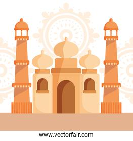 happy independence day india, taj mahal monument trraditional culture national
