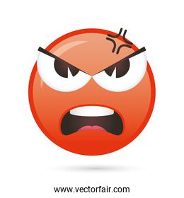 emoji face angry funny character