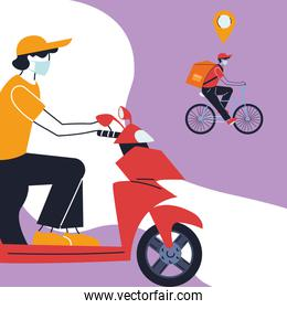 vehicles for safe courier delivery