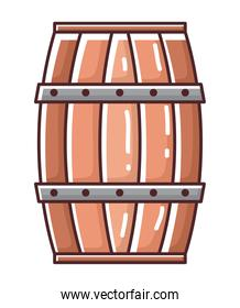 Beer barrel icon vector design