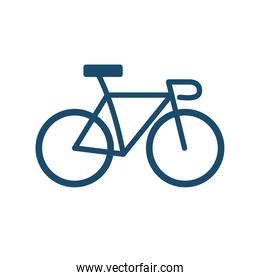 bike flat style icon vector design