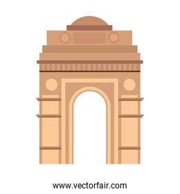 india gate, famous monument of india