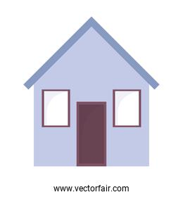 house home architecture residential isolated icon design white background