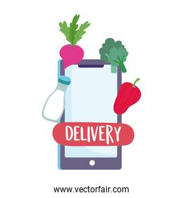 safe delivery at home during coronavirus  covid 19 , smartphone order food