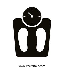 scale balance measure weight silhouette style icon