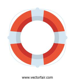 float lifeguard line and fill icon