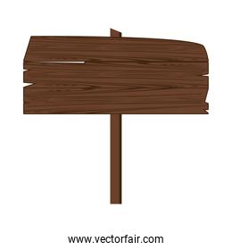 label wooden signal icon isolated