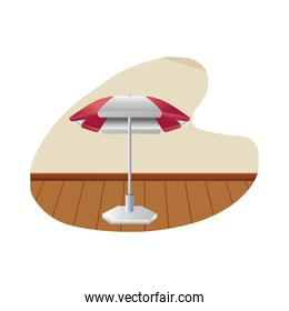 umbrella of commercial business icon