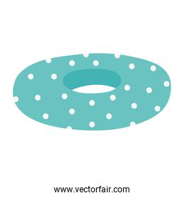 dotted float cartoon isolated design icon white background