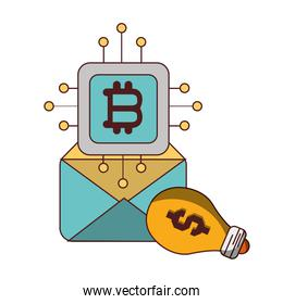 bitcoin email marketing creativity cryptocurrency transaction digital money