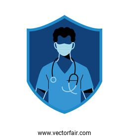 medical professional wearing face masks for safety